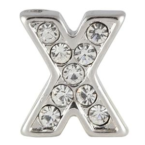 Picture of Silver 'X' Charm